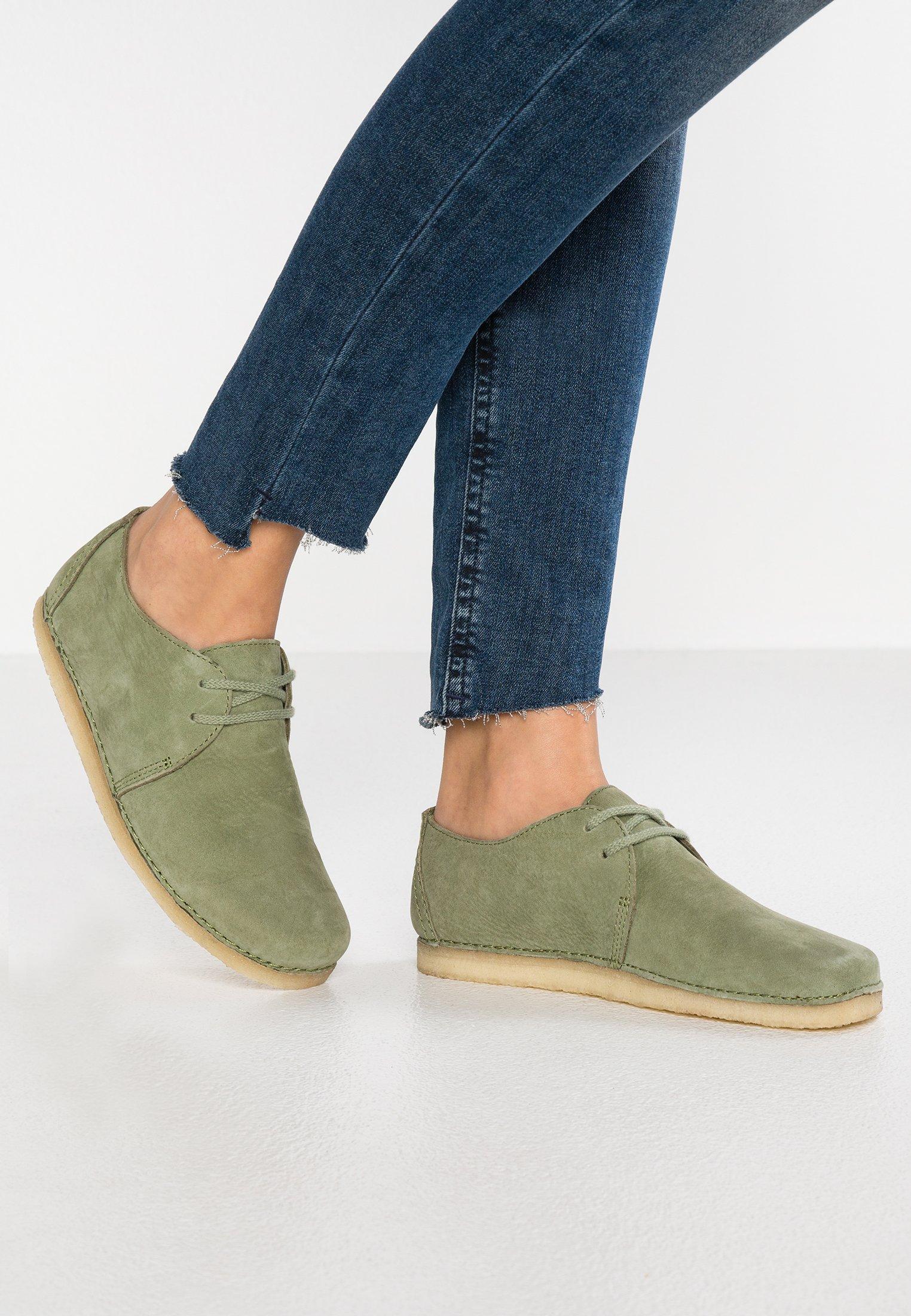 Clarks Originals ASHTON Casual snøresko cactus green