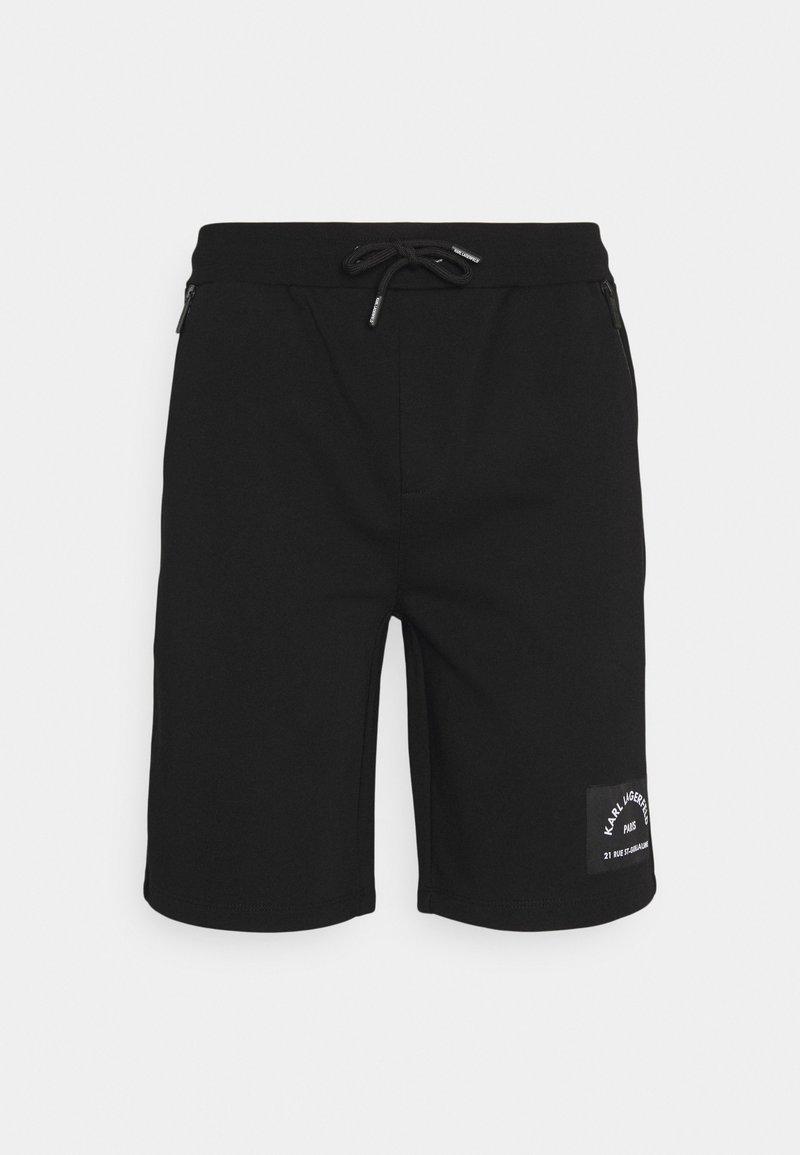 KARL LAGERFELD - Shorts - black