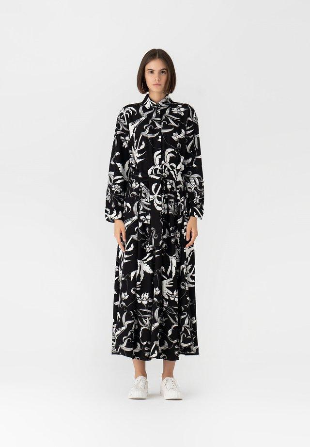 RUSTIC - Robe chemise - black