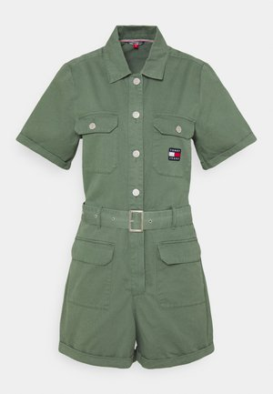 SHORT BOILERSUIT - Mono - desert olive