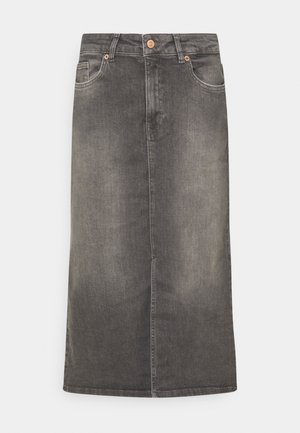 DILIN - Denim skirt - grey vintage denim
