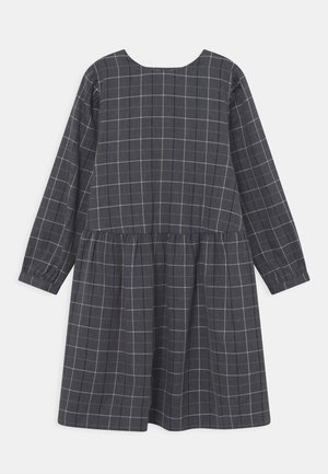 MAIA - Shirt dress - navy check