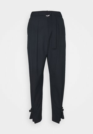TRACK TROUSER TAPERED LEG - Trousers - dark blue