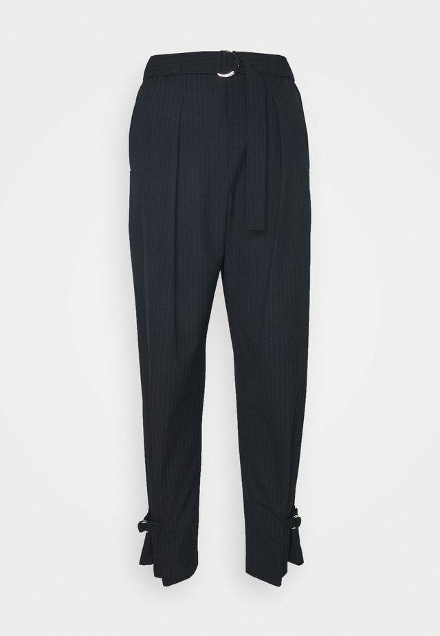 TRACK TROUSER TAPERED LEG - Pantalones - dark blue