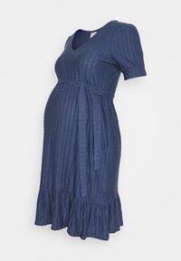 MAMALICIOUS - MLKADI SHORT DRESS - Sukienka z dżerseju - crown blue - 0