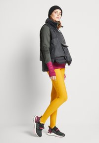 adidas Performance - ASK C.RDY - Tights - dark yellow - 2