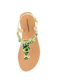 PRIMA MODA - DELLA - T-bar sandals - golden - 1