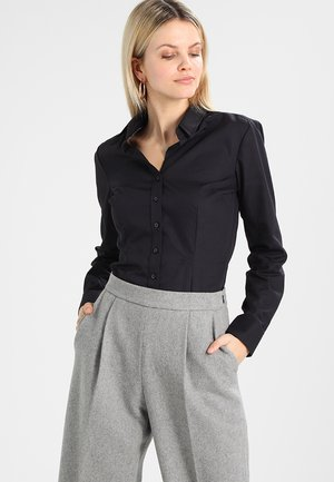 SCHWARZE ROSE - Overhemdblouse - black