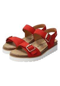 Mobils Ergonomic - Walking sandals - scarlet - 4