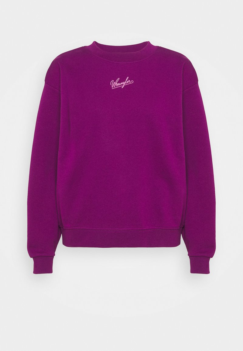 Wrangler - HIGH RETRO - Sweatshirt - ultraviolet