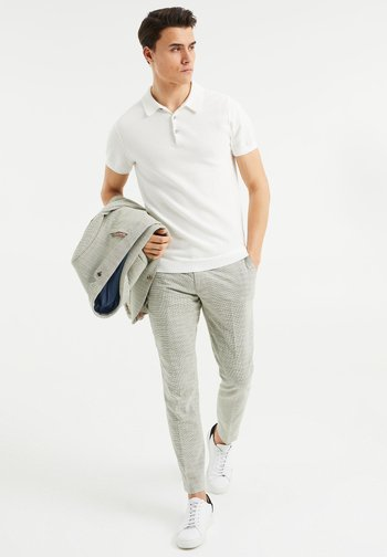 SLIM FIT  - Trousers - green