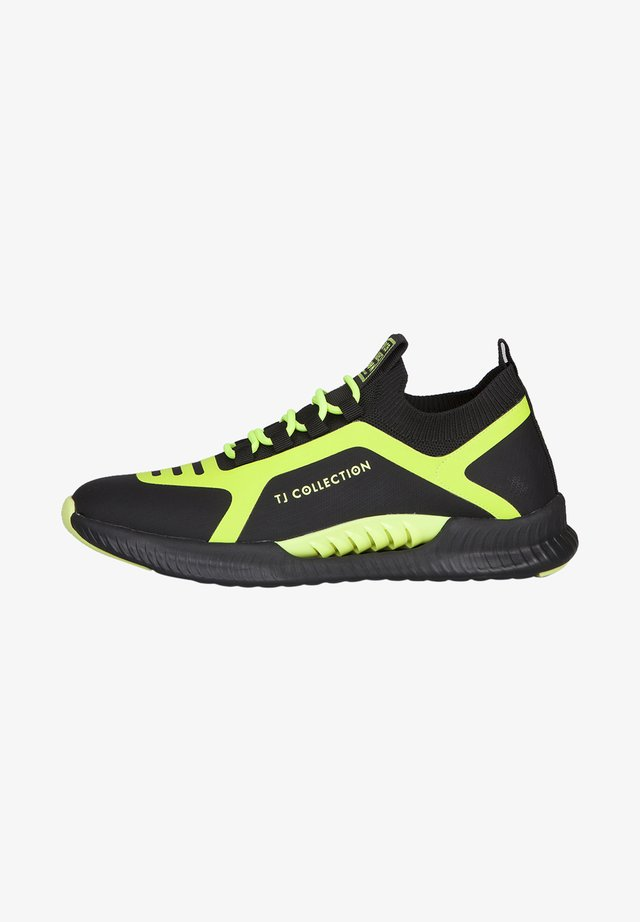 Sneakers laag - mottled green
