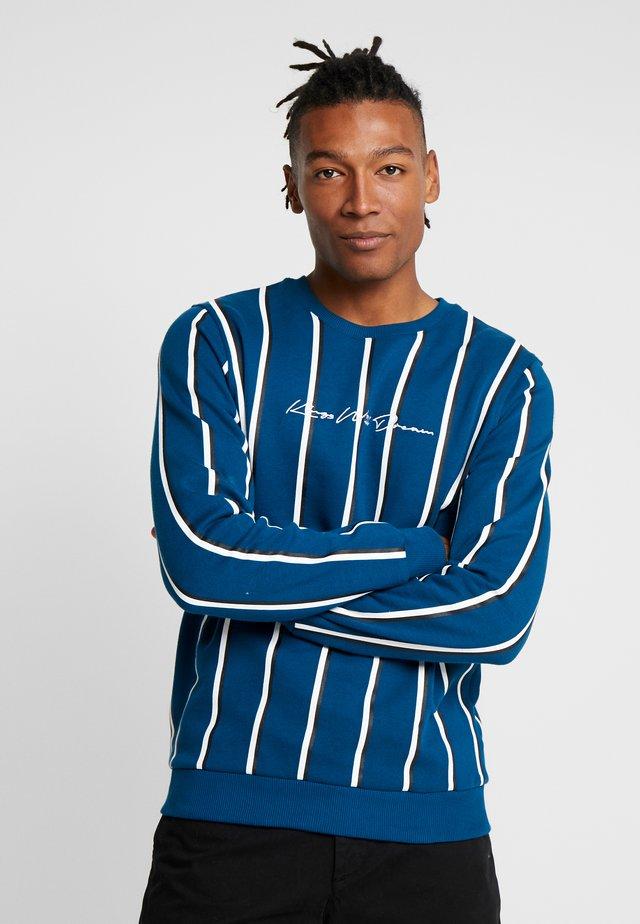 VERTICAL STRIPE - Sweatshirt - sailor blue