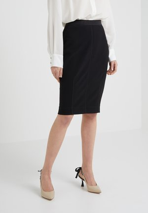 POLSON - Pencil skirt - black