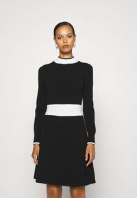 HUGO - SUMERY - Obleka/pulover - black - 2