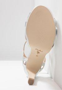 Menbur - Sandaler med høye hæler - silver - 6