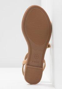 Rubi Shoes by Cotton On - EVERYDAY BELLA WRAP  - Sandaalit nilkkaremmillä - tan - 6