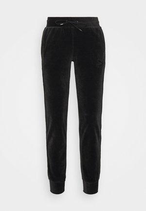 ICONIC PANTS - Tracksuit bottoms - black
