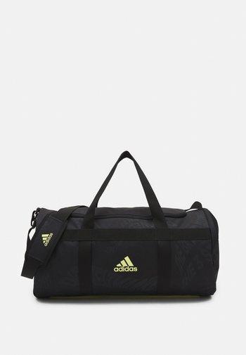 UNISEX - Treningsbag - black/pulse yellow