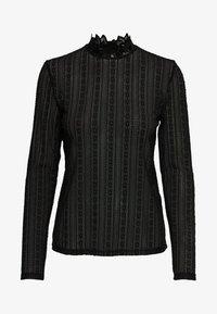 JDY - Long sleeved top - black - 4
