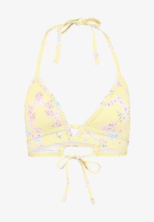 TRIANGEL - Bikini top - yellow