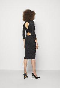 LIU JO - ABITO MAGLIA - Shift dress - black - 2
