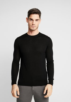 FLEMMING CREW NECK - Trui - black