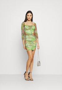 NEW girl ORDER - TROPICAL ANIMAL DRESS - Day dress - multi - 1