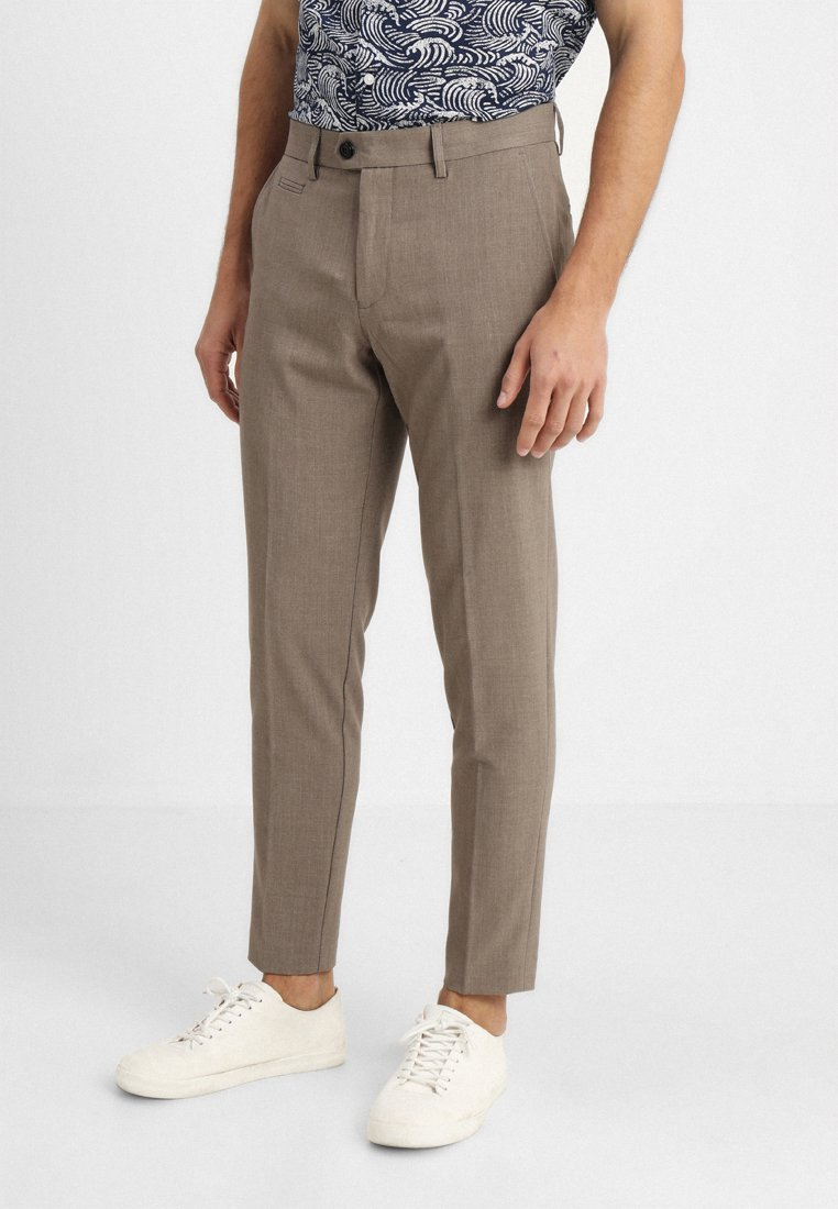 Lindbergh - CLUB PANTS - Trousers - beige mix