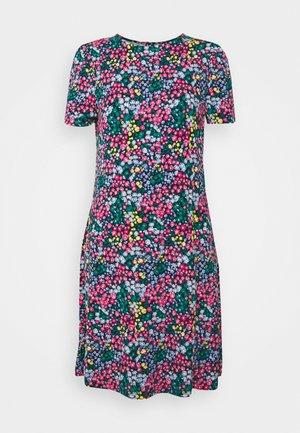 FLORAL SWING DRESS - Žerzejové šaty - multi-coloured