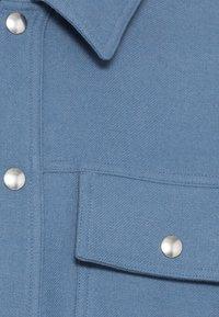 sandro - OVERSHIRT - Shirt - gris bleuté - 2