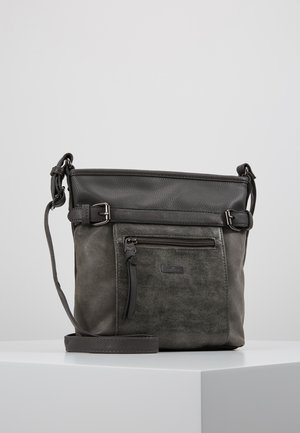 JUNA CROSS BAG - Across body bag - grau