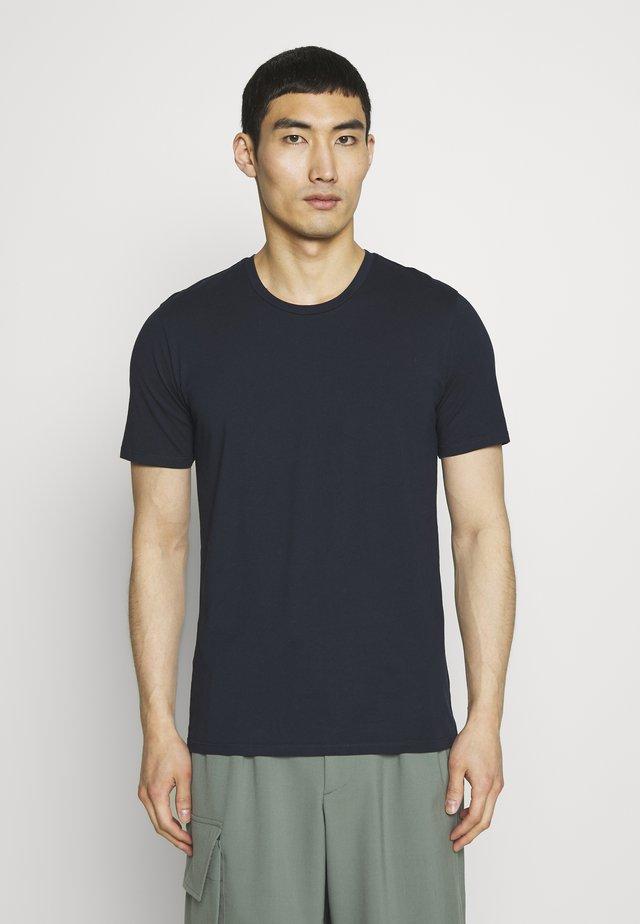 CARLO - T-shirt basic - navy