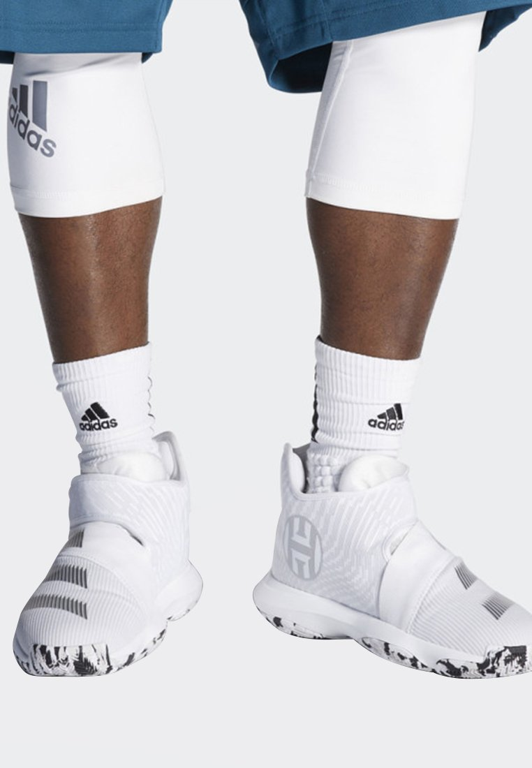 adidas Performance - HARDEN B/E 3 SHOES - Basketball shoes - white