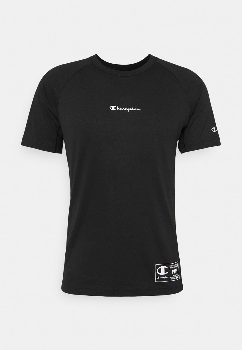 Champion - CREWNECK - T-shirt med print - black