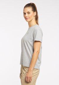 Haglöfs - Print T-shirt - grey melange - 2
