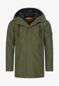 INDICODE JEANS - Winter coat - dark green - 5