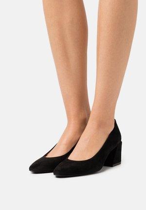 BLOCK DECOLLETE  - Classic heels - nero