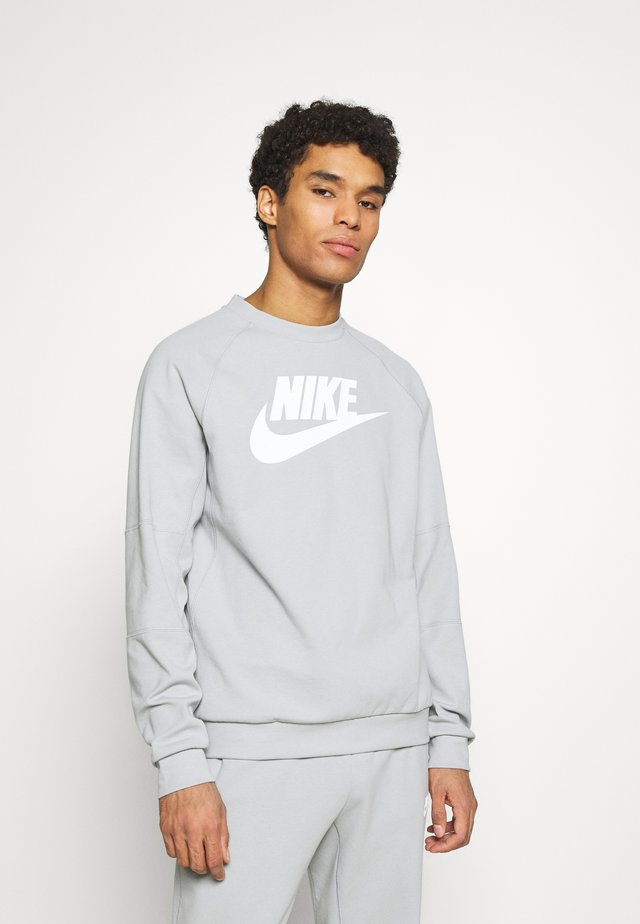 MODERN - Sweatshirt - smoke grey/white