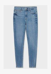 C&A - Jeans Skinny Fit - denim-light blue - 0