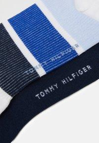 Tommy Hilfiger - SOCK COLOR BLOCK 2 PACK - Socks - navy - 1