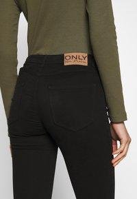 ONLY - ONLMIRINDA BASIC PANT - Jeans Skinny Fit - black - 6