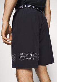 Björn Borg - MEDAL SHORTS - Sports shorts - black/silver - 3