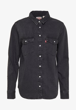 ESSENTIAL WESTERN - Button-down blouse - black sheep