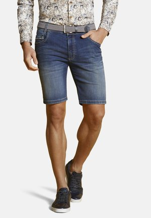 Denim shorts - marine