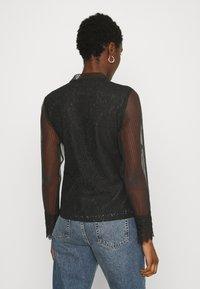 Derhy - APPEL BLOUSE - Button-down blouse - black - 2