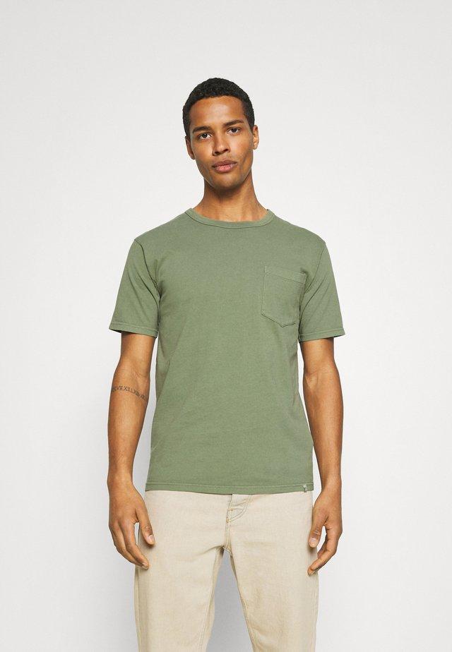 HARIS  - T-shirt - bas - sea spray