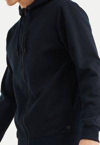 WE Fashion - Zip-up hoodie - dark blue - 4