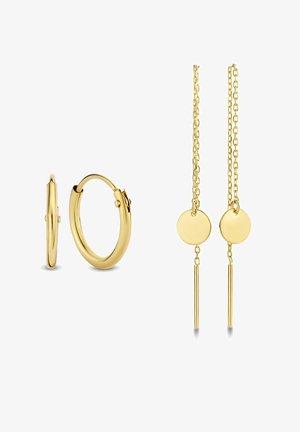 SET-  14 KARAT GOLD  - Ohrringe - gold