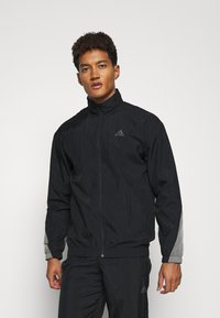 adidas Performance - METALLIC SET - Tracksuit - black - 2